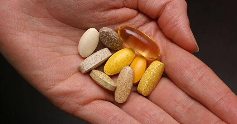 vitaminas y minerales control