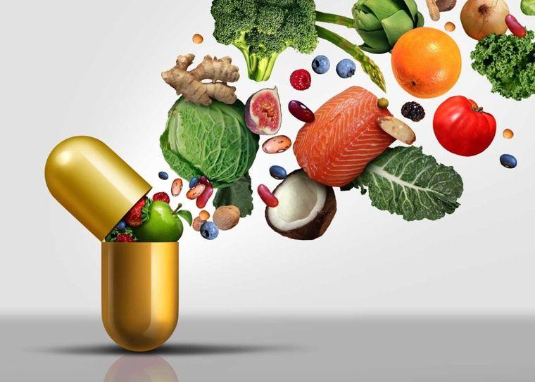 vitaminas y minerales suplementos