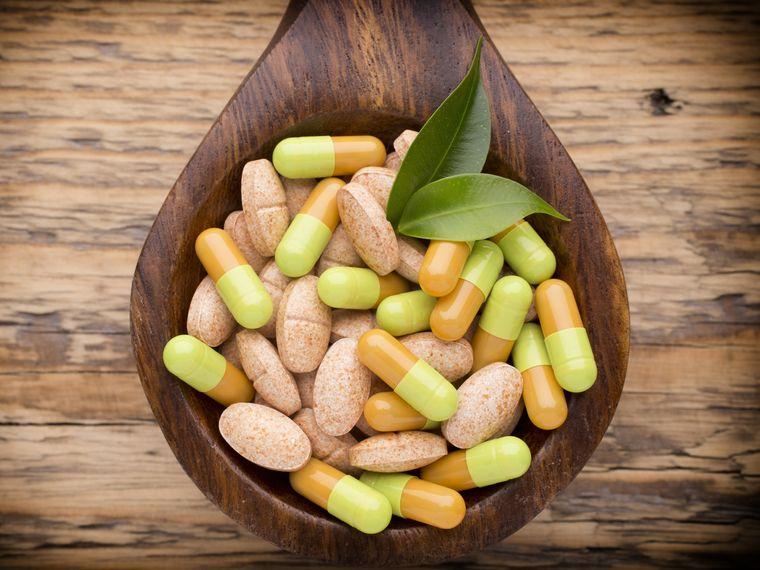 vitaminas y minerales varios
