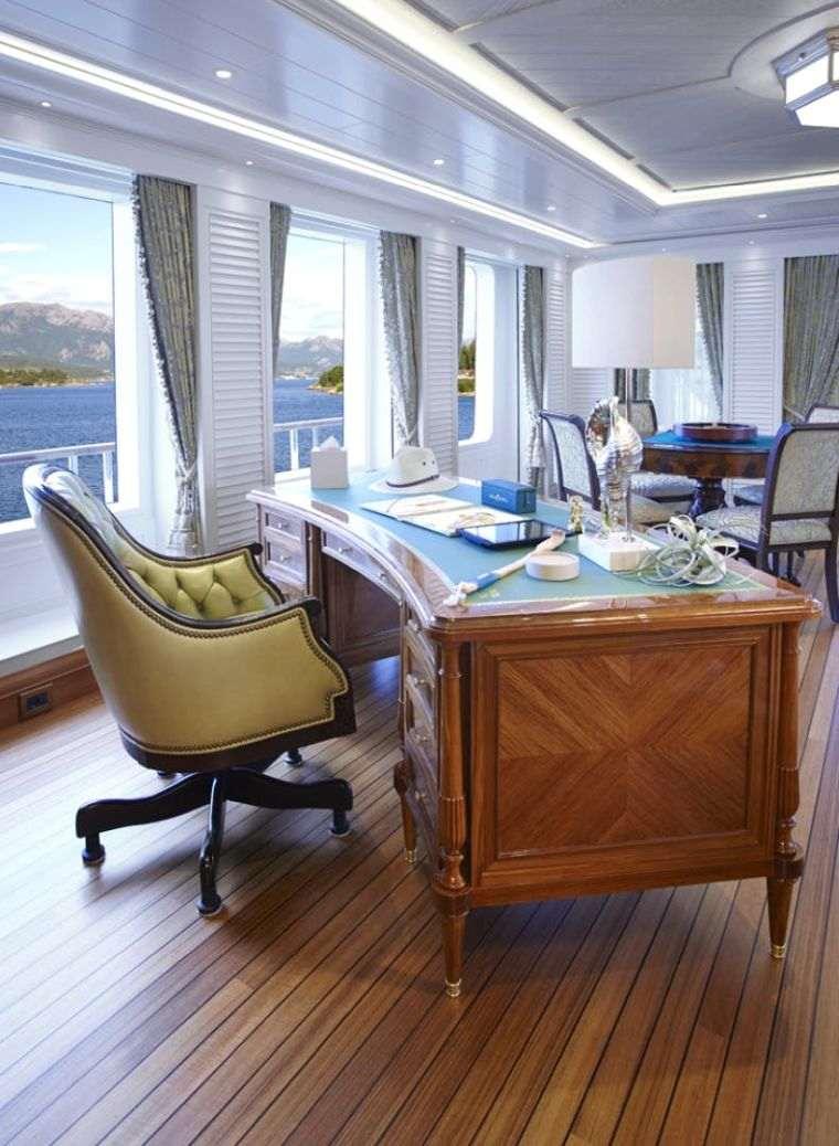 Barcos de lujo – El barco lujoso Sea Owl de Feadship