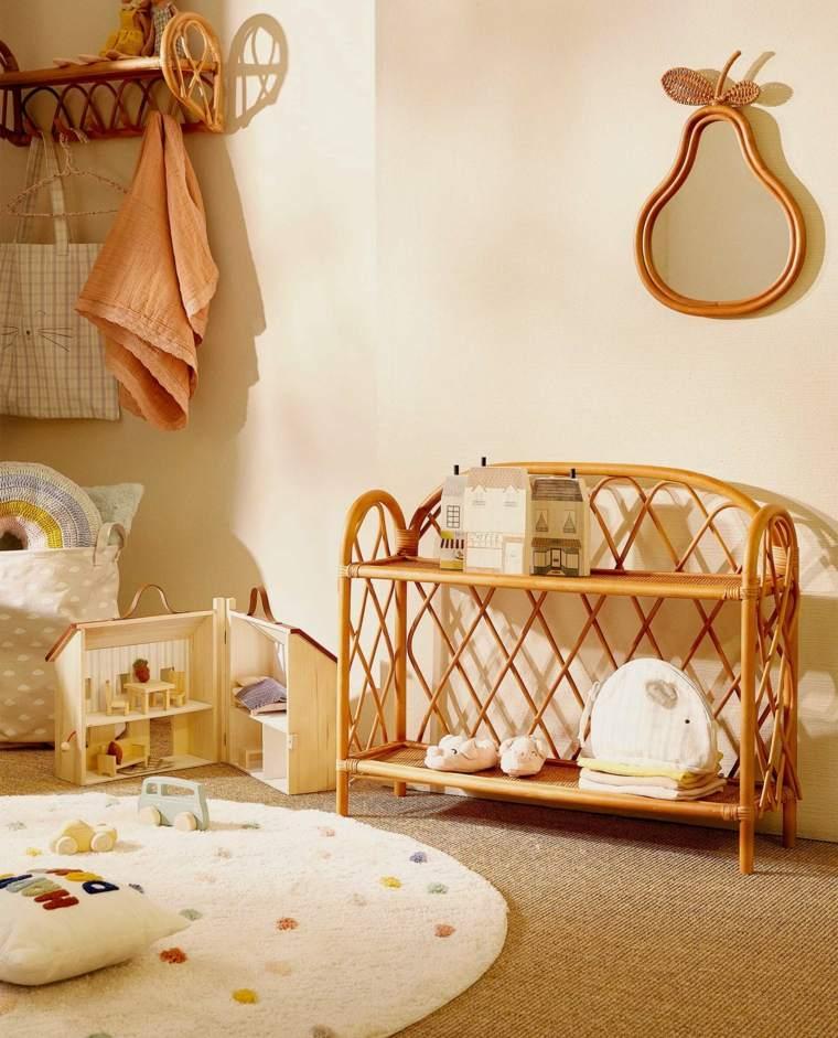 muebles extrafuncionales para la habitación de los niños