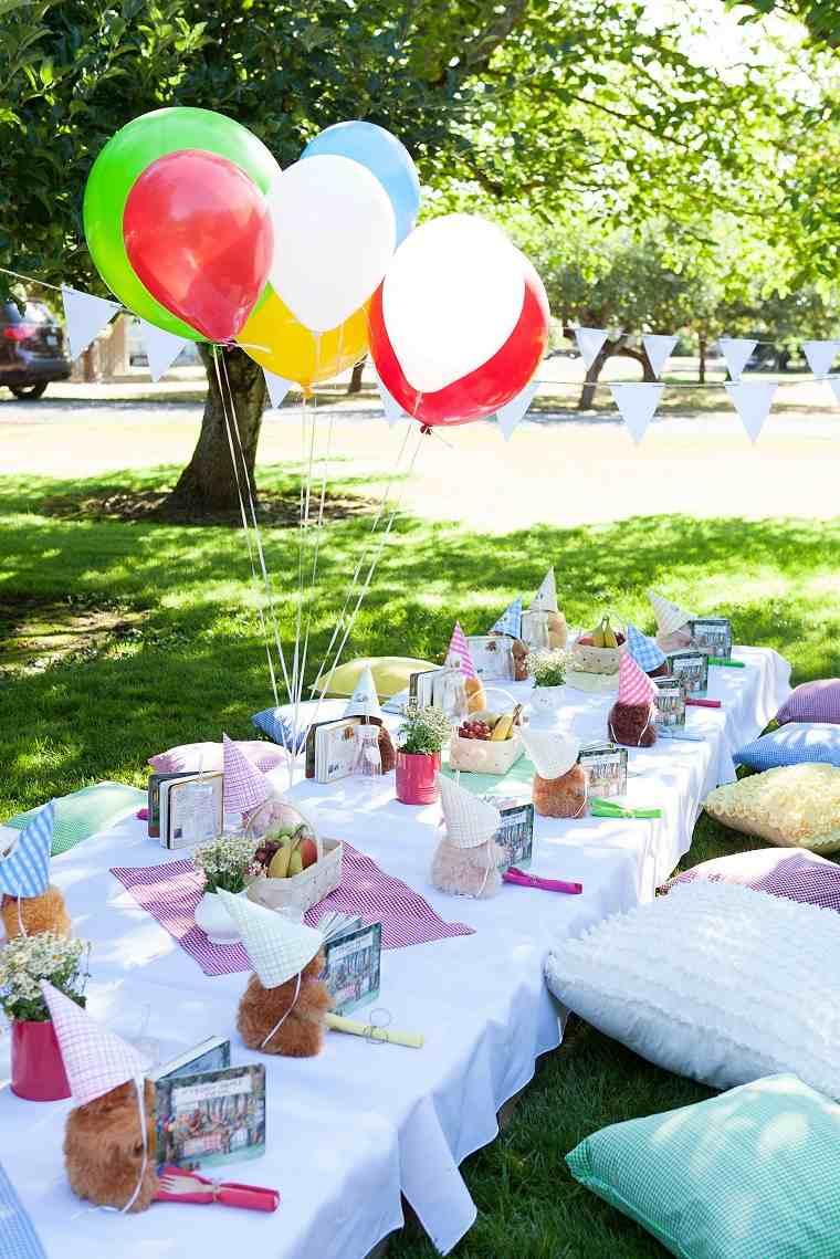 Fiesta de cumpleaños infantil-estilo-globos