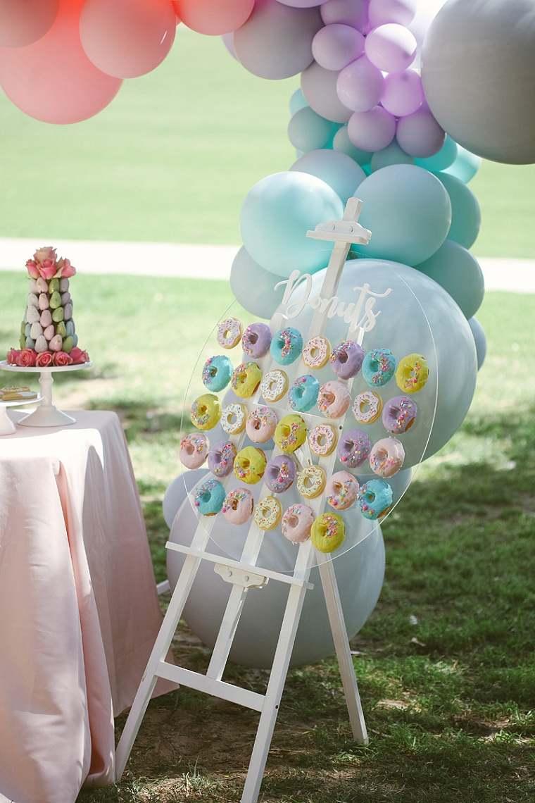 Fiesta de cumpleaños infantil-estilo-pastel
