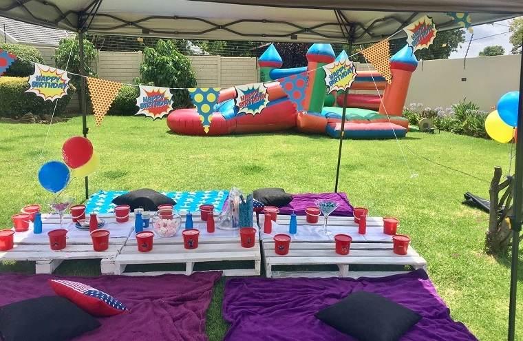 Fiesta de cumpleaños infantil-mesa-ideas