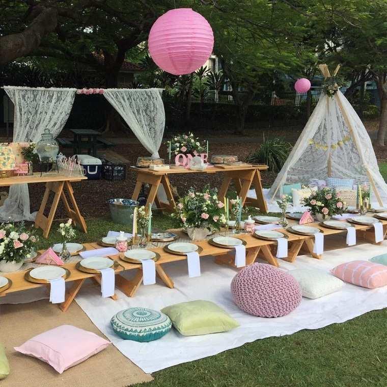 Fiesta de cumpleaños infantil-picnic-ninos