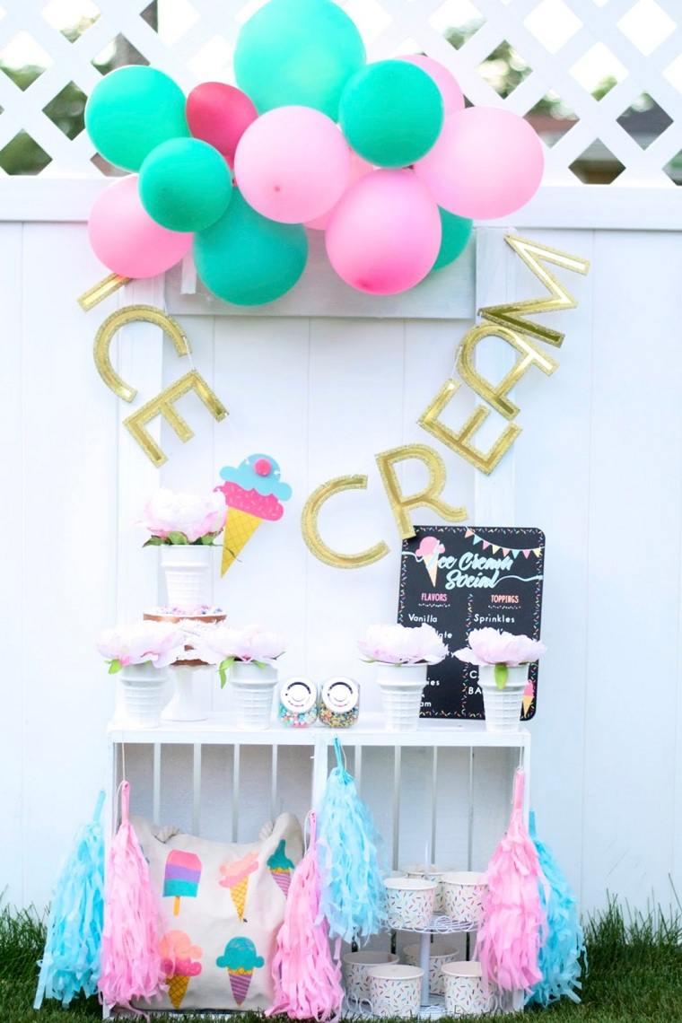 Fiesta-de-cumpleaños-infantil-tema-helado