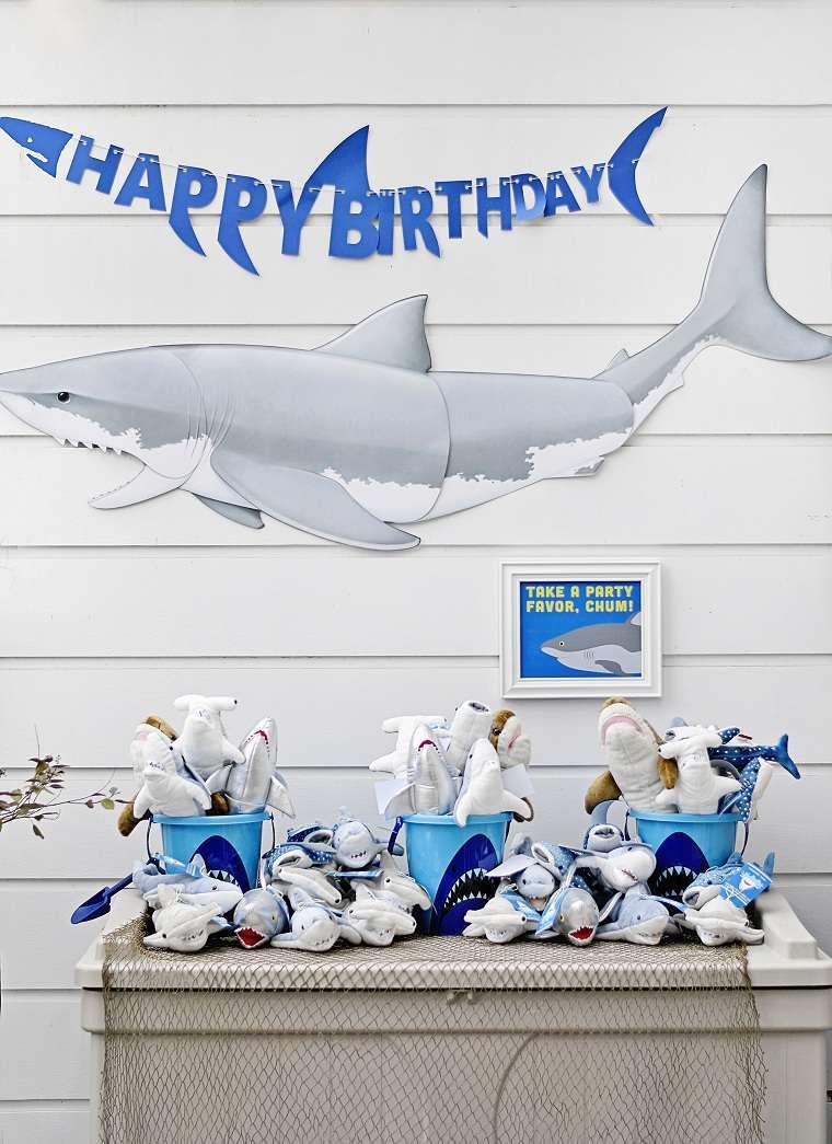 Fiesta-de-cumpleaños-infantil-tema-tiburon-estilo