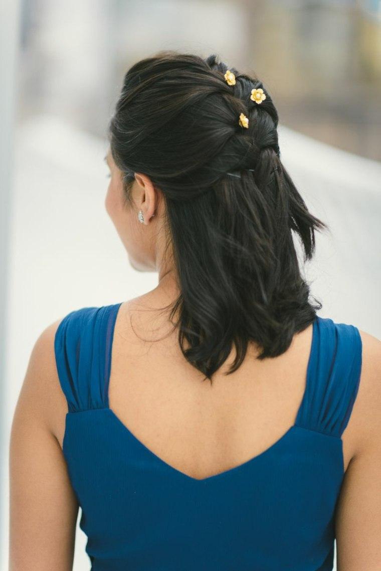 Peinados-para-bodas-pelo-corto-color-negro