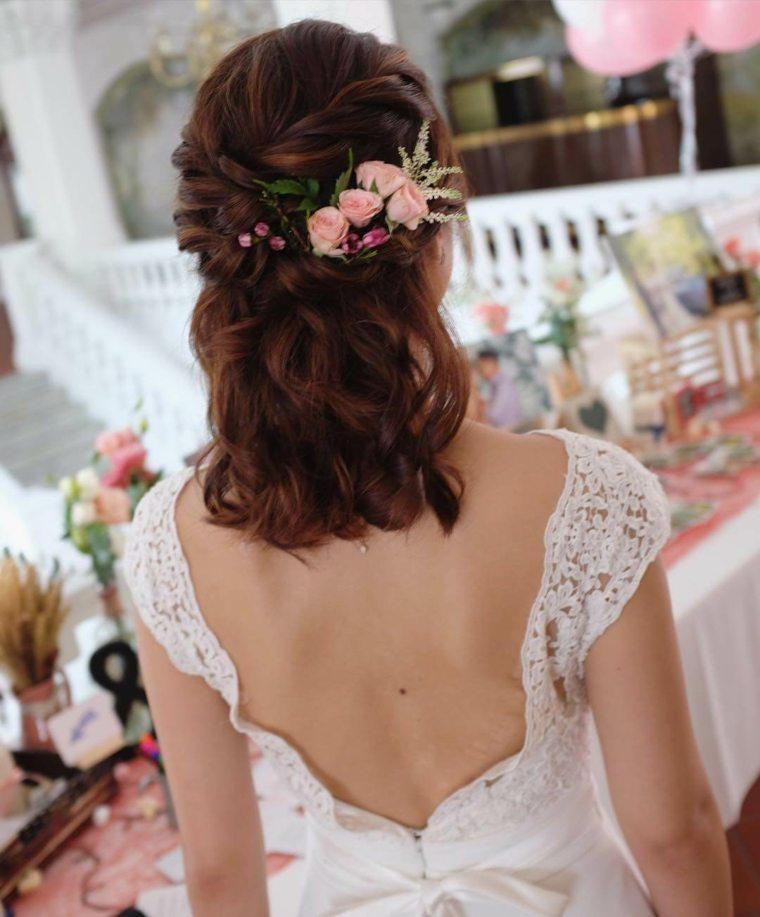 Peinados-para-bodas-pelo-corto-rubio-estilo-2020