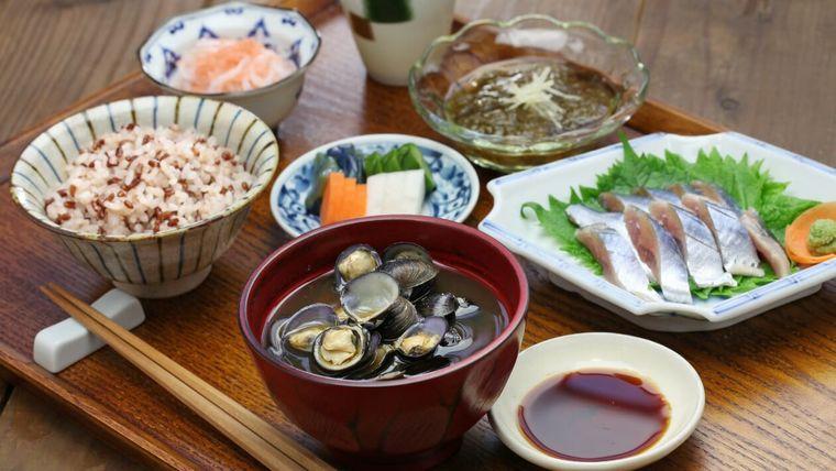 alimentación saludable comida japonesa