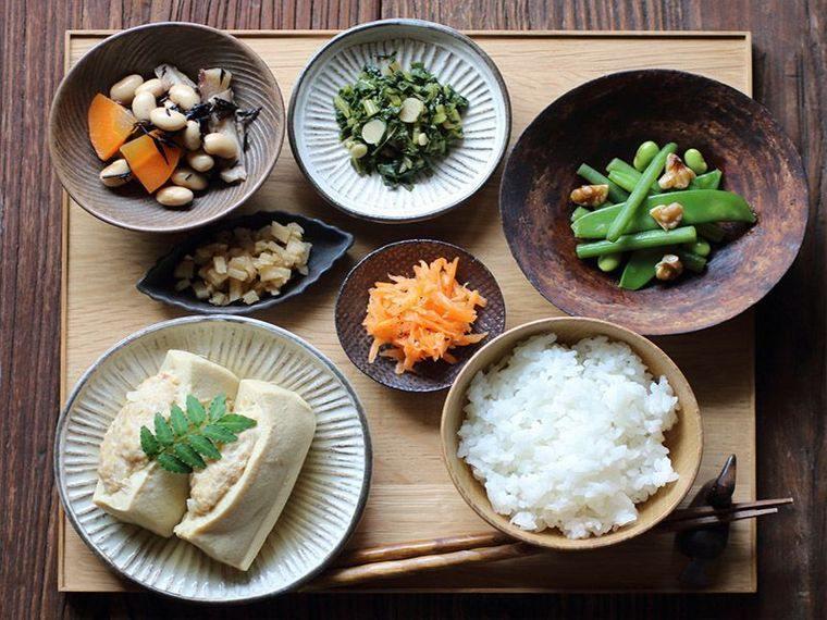 alimentación saludable de japon