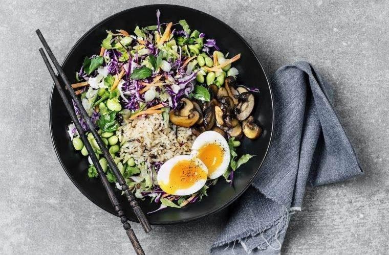 alimentación saludable ensalada