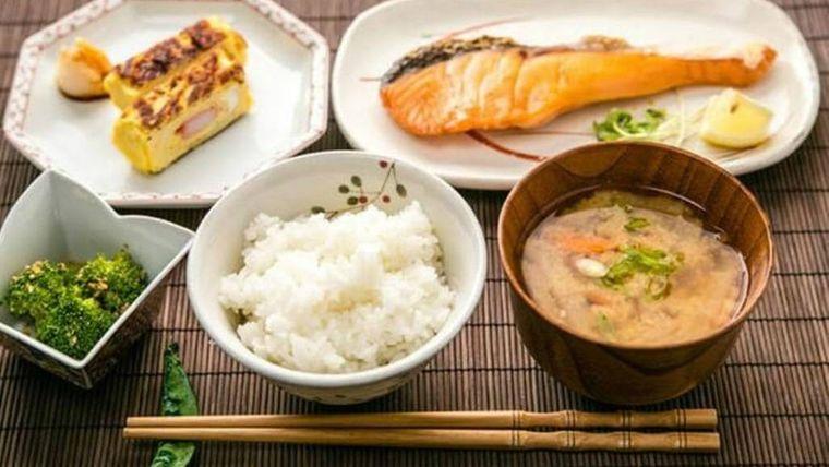 alimentación saludable japon