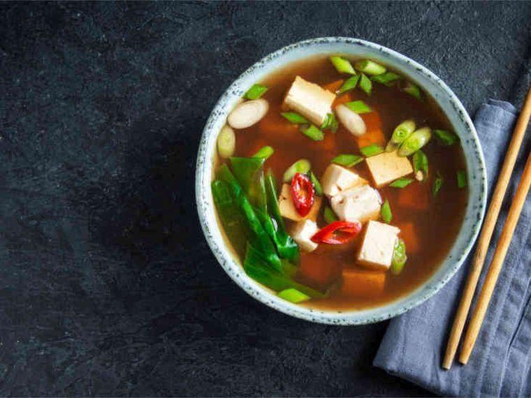 alimentación saludable sopa