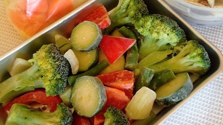 alimentación saludable verde