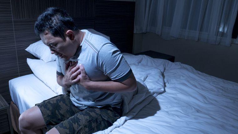 ansiedad nocturna ataque panico