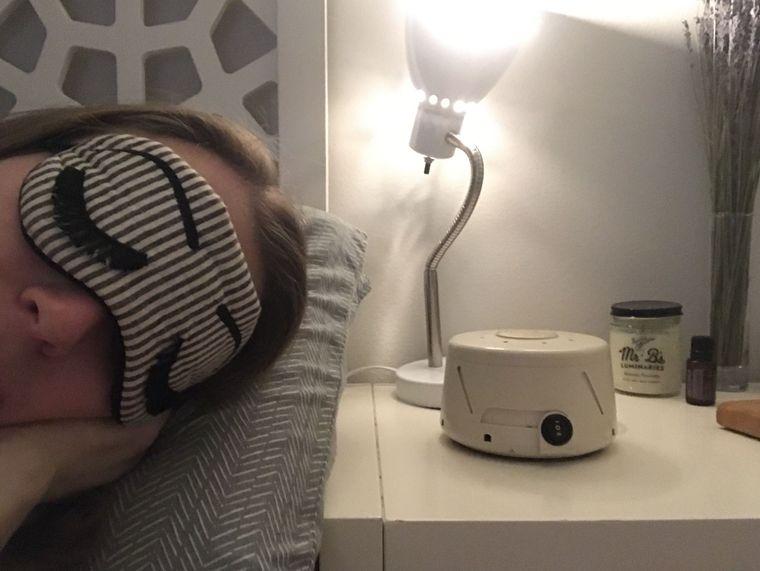 ansiedad nocturna maquina ruido blanco