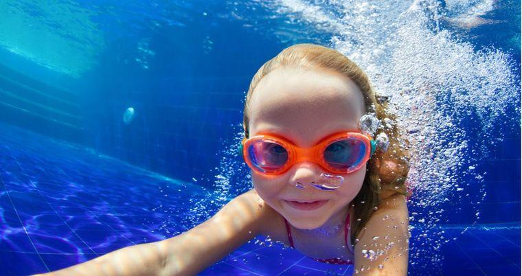 aprender a nadar actividad