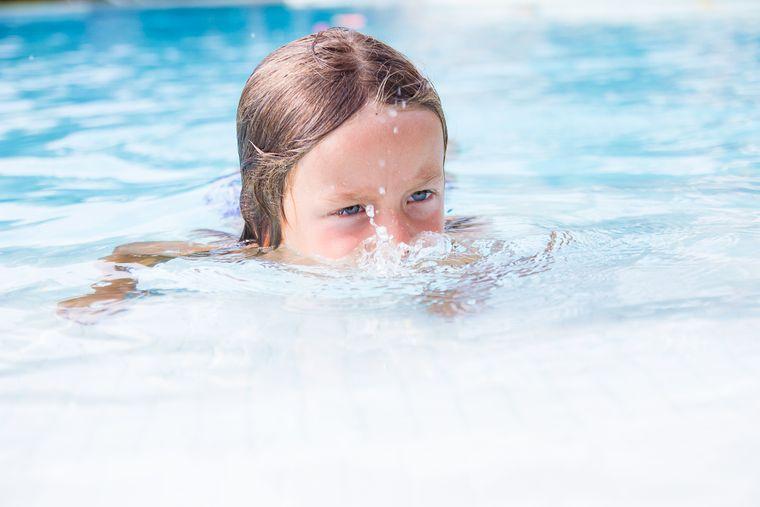 aprender a nadar burbujas