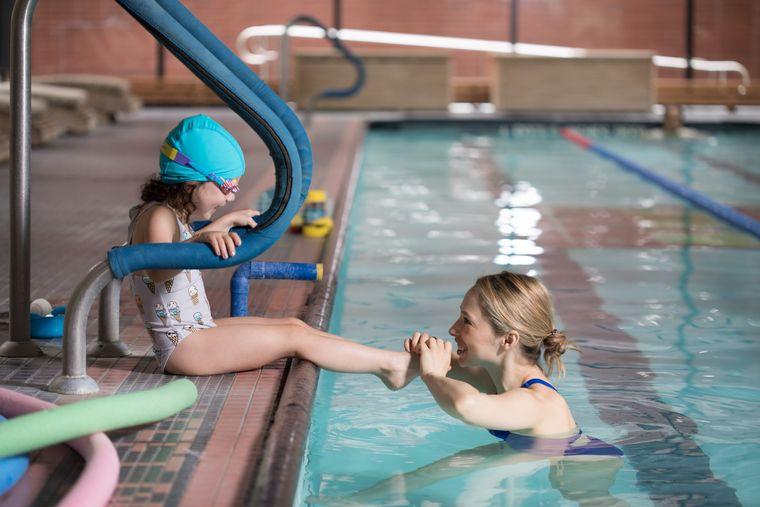 aprender a nadar diversion
