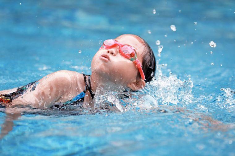 aprender a nadar ejercicio