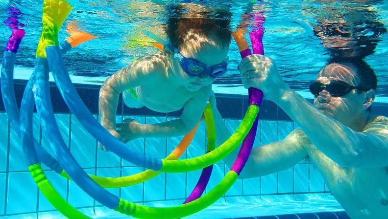 aprender a nadar equilibrio