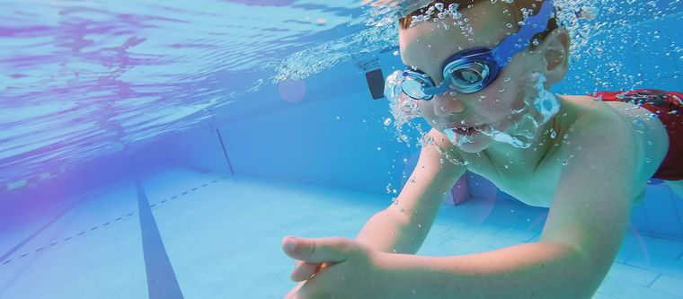 aprender a nadar exhalacion