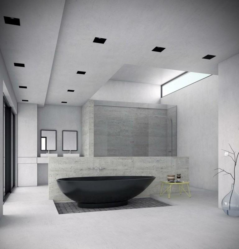 bano-banera-ideas-diseno-color-negro