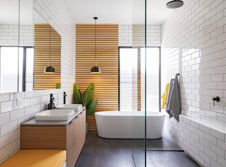 bano-diseno-minimalista-madera