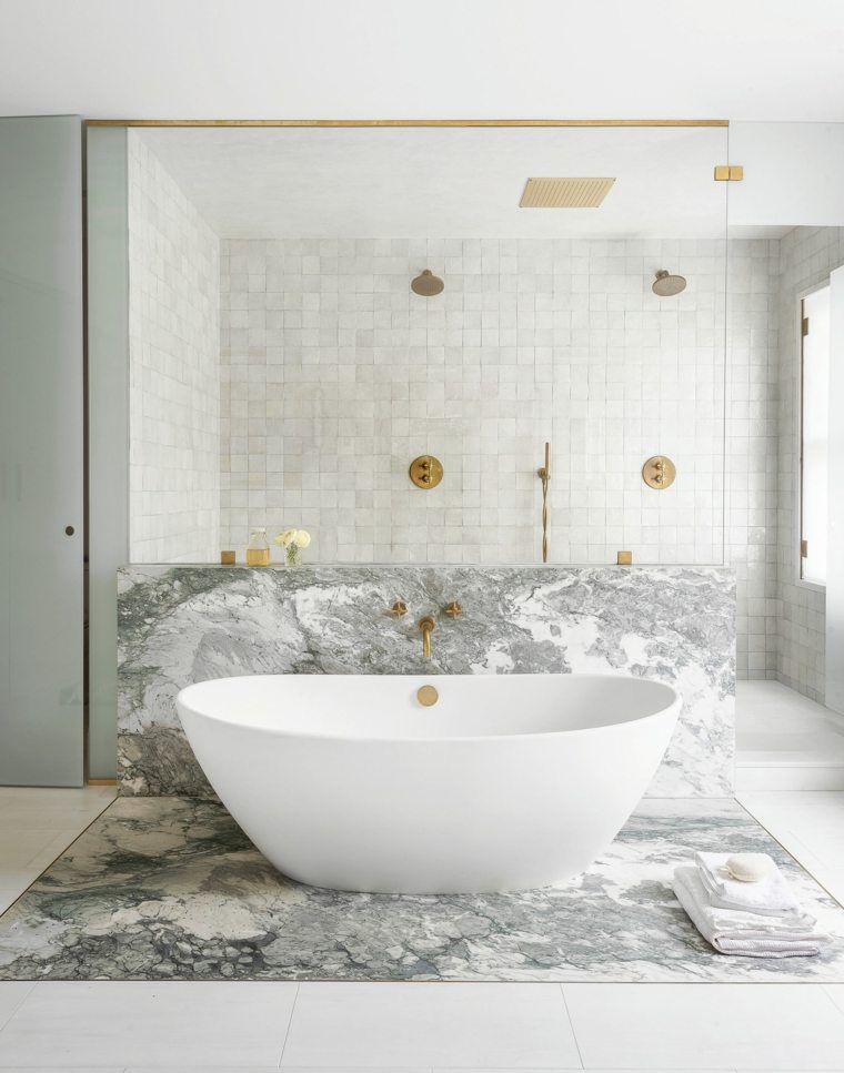 baños con piedra-banera-estilo-bano-ideas