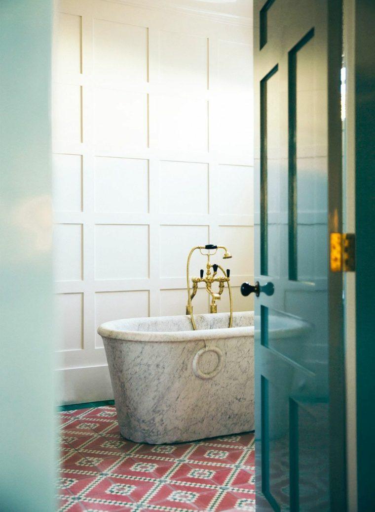 baños con piedra-banera-piedra-bano-ideas