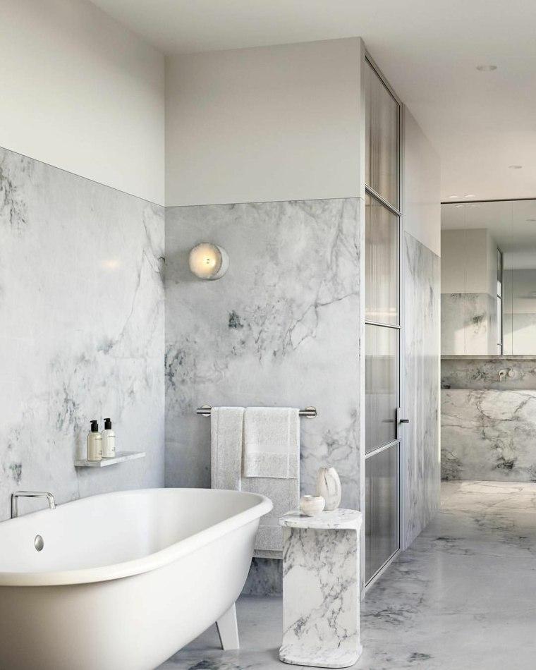 baños con piedra mesa-piedra-bano