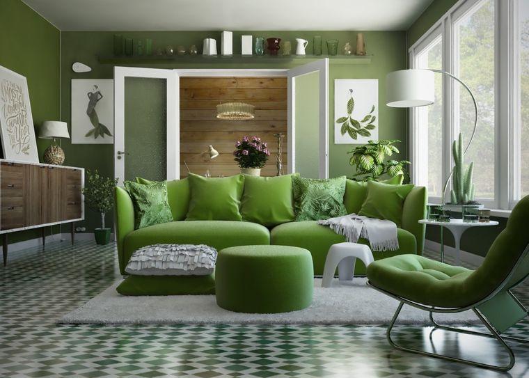 Color verde – Ideas para dar frescura a tu hogar comenzando con el vestíbulo
