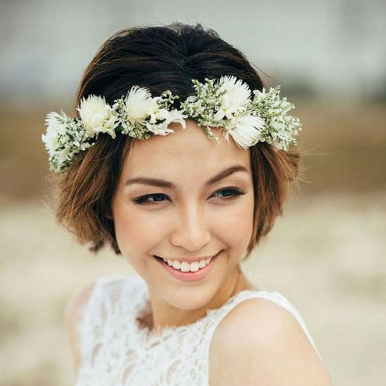corona-flores-peinado-cabello-corto