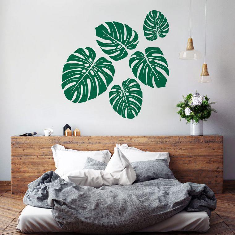decoración de interiores pared dormitorio