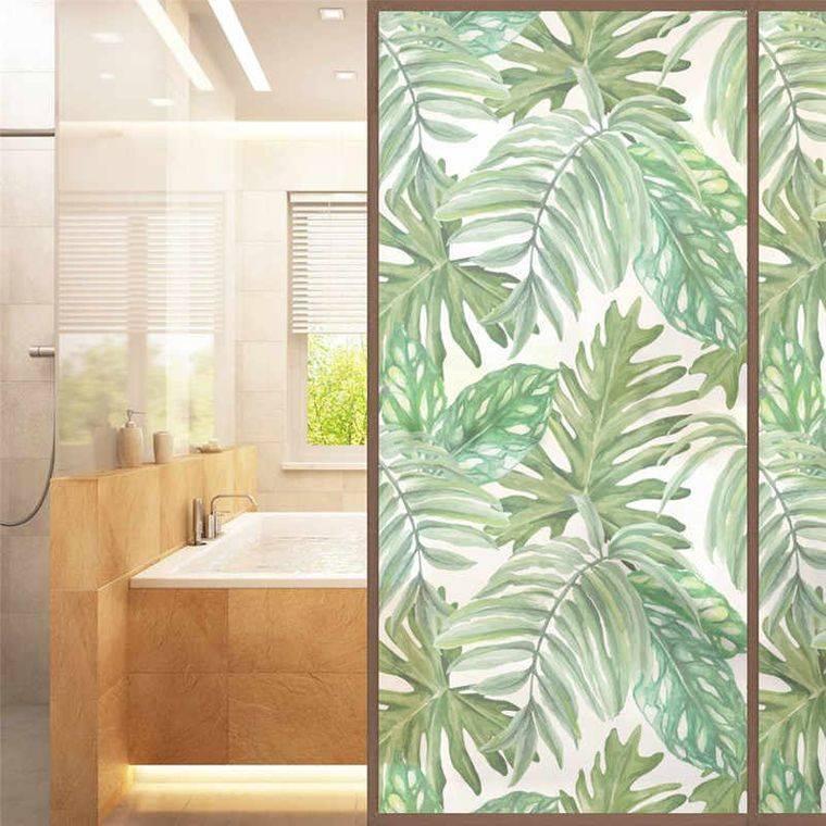decoración de interiores puerta ducha
