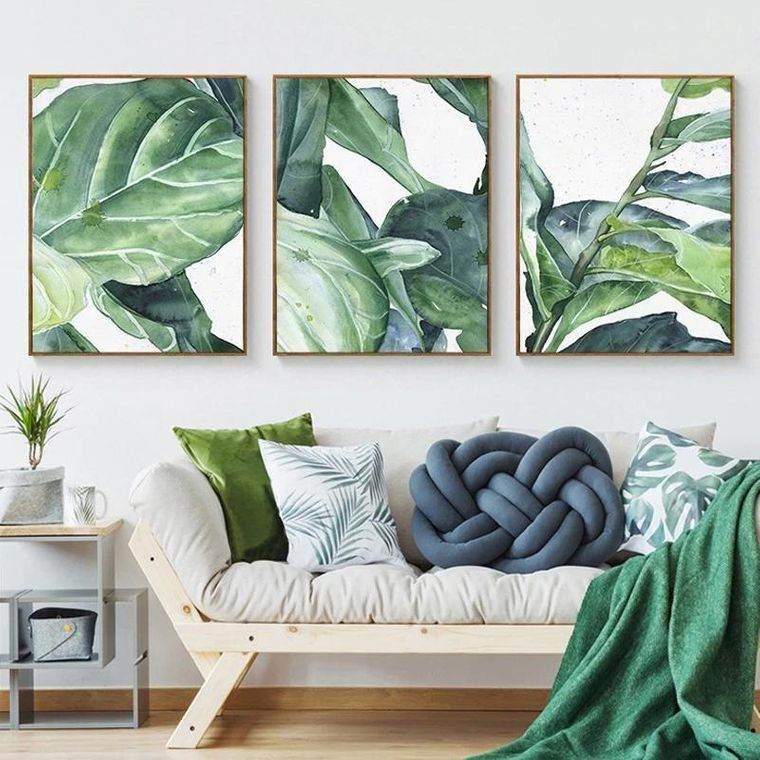 decoración de interiores tropical moderno