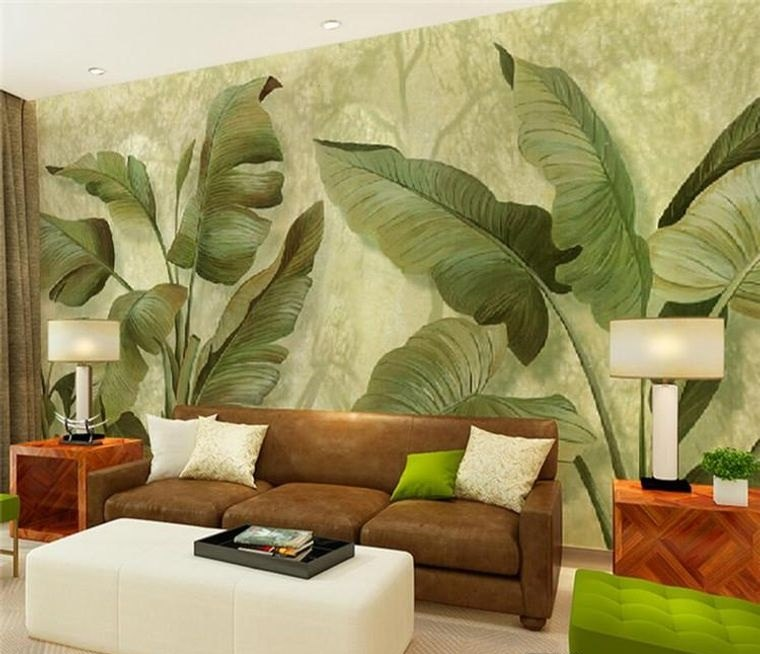 decoración de interiores tropico moderno
