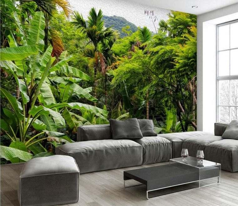 decoración de interiores vegetacion