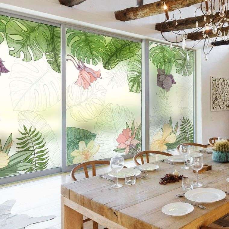 decoración de interiores ventanal
