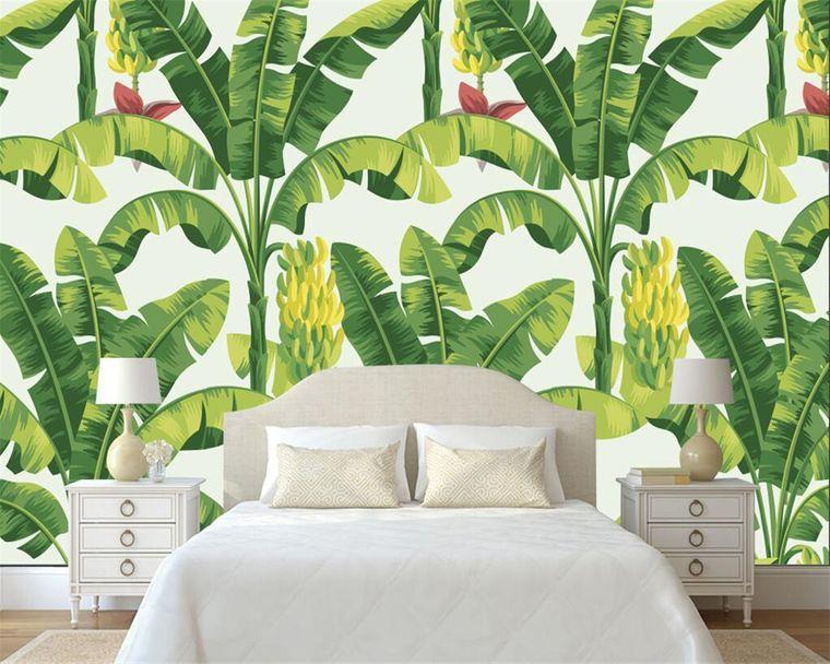 decoración de interiores verde
