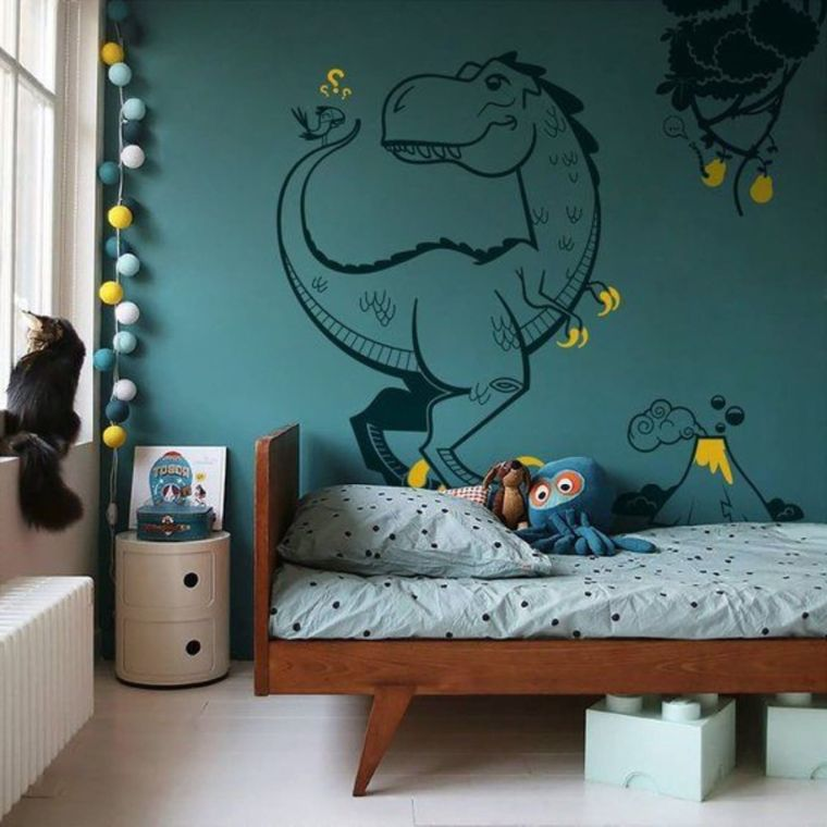 dinosaurio-pared-ideas