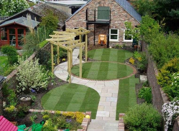 diseño de jardines acogedor
