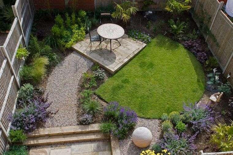 diseño de jardines acogedores