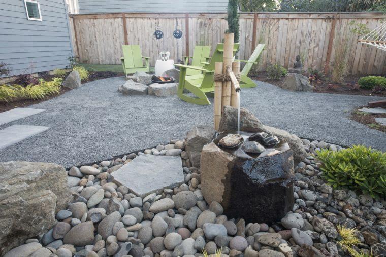 diseño de jardines agua