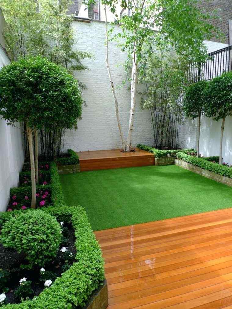 diseño de jardines casa pequeña