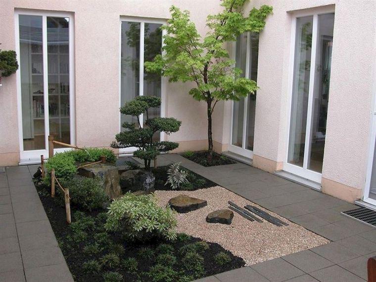 diseño de jardines centrales