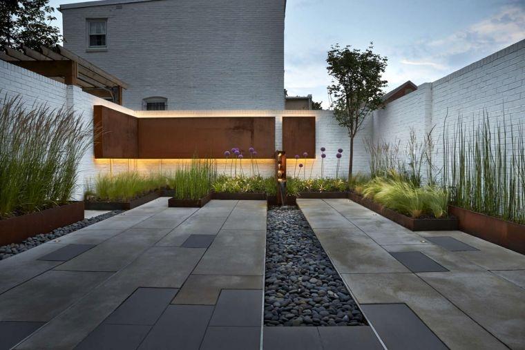 diseño de jardines elegante