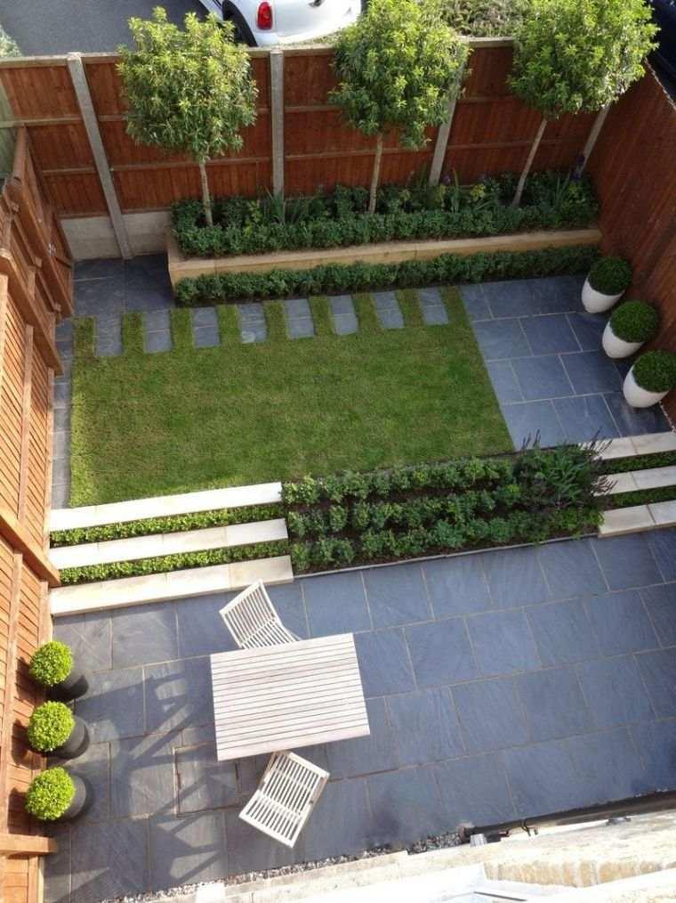 diseño de jardines estilo minimalista