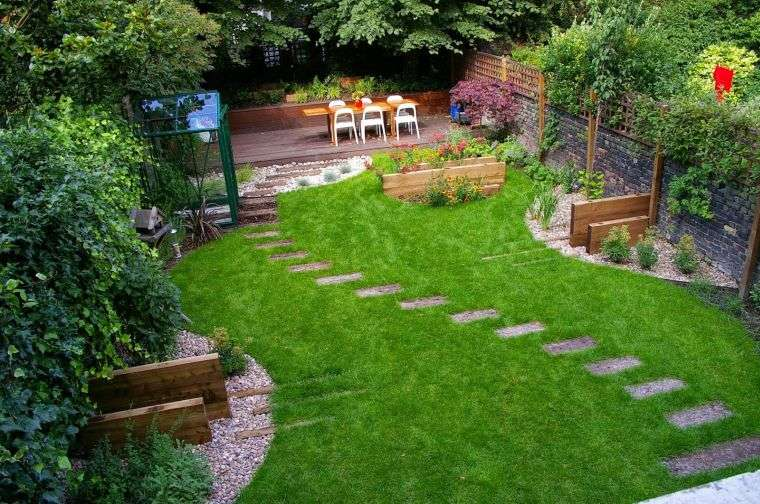 diseño de jardines estilo